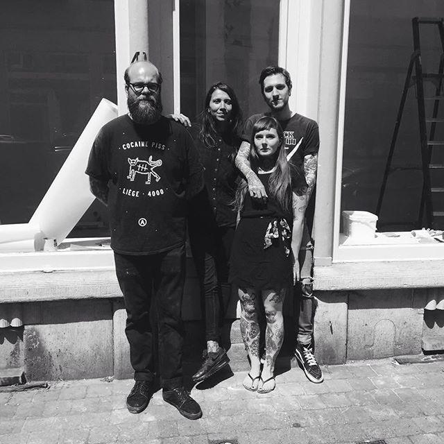 We are proud to announce we will be opening a new tattoo and piercing shop all together @burtonursaeminoris @martin__marine @indyvoet in Brussels, called Purple Sun. Opening party on saturday the 29th of August, Stay Tuned !!! Nous sommes très heureux de vous annoncer que nous allons ouvrir un nouveau shop de tatouage et piercing, tous ensemble @burtonursaeminoris @martin__marine @indyvoet à Bruxelles, appelé Purple Sun. La fête d'ouverture sera le samedi 29 août. Plus d'infos bientôt ! Merci à vous d'avoir était aussi patient , mon agenda est maintenant ouvert !