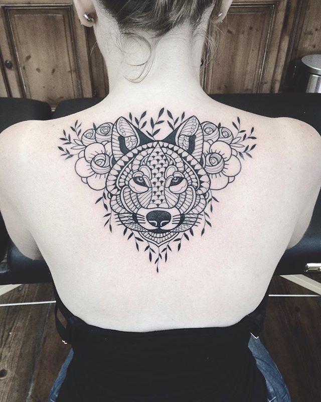 Merci Alexiane !  #tattoo #bruxelles #carolinekarenine #purplesunbrussels