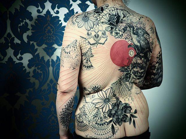 Merci Soizic !  Collaboration avec @xoil_tatouage_  La première sûrement pas la dernière !