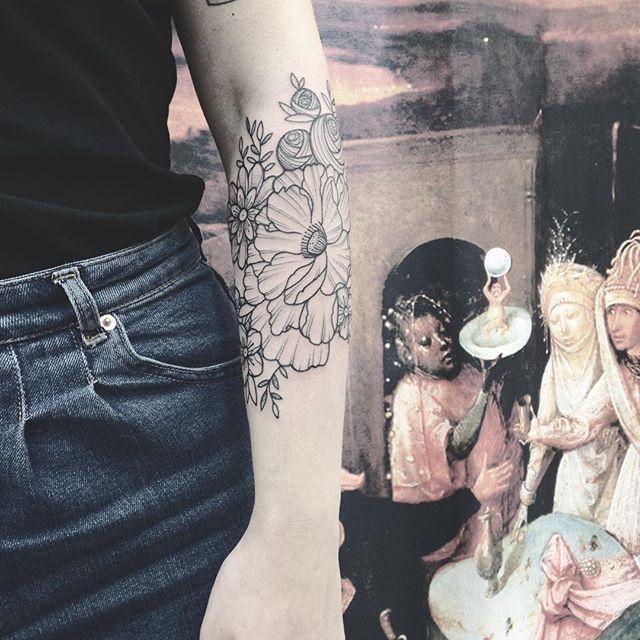 Merc Méline ! #tribalact #tattoo #carolinekarenine